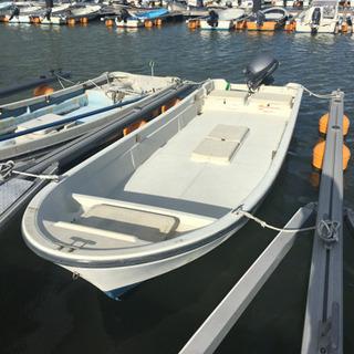 和船 ヤマハ4ストローク9.9馬力 魚探付き