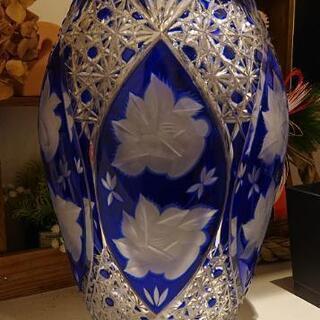 お取引決定しました   POLONIA 切り子 花瓶