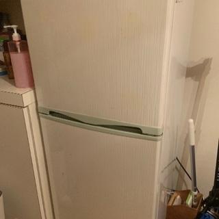 無料配送 138L冷蔵庫お譲りします。12/7指定