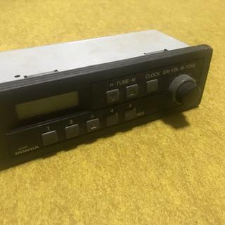 古いカーラジオ (ホンダアクティ(軽トラ)から取り外し)