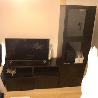 《値引中》IKEAベストーシリーズ テレビ台+収納棚