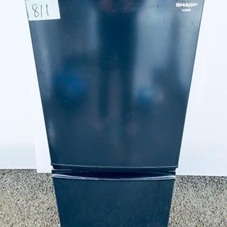 811番 SHARP✨ノンフロン冷凍冷蔵庫❄️SJ-14S…