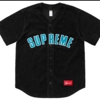supreme Corduroy Baseball Jersey...
