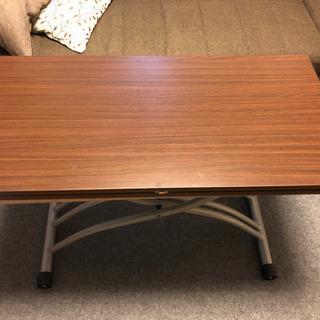 【値下げ+6日AM受取限定】ディノス テーブルの画像