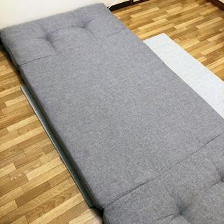 リクライニングローソファ 折りたたみベッド − 香川県