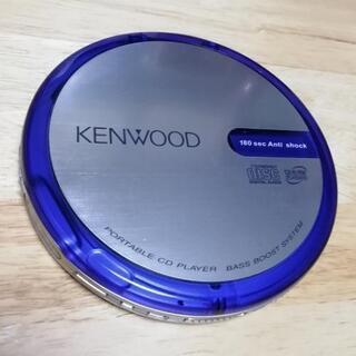 ポータブルCDプレーヤー(11)KENWOOD DPC-X337-L