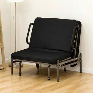 ニトリ 折りたたみベッド - 家具
