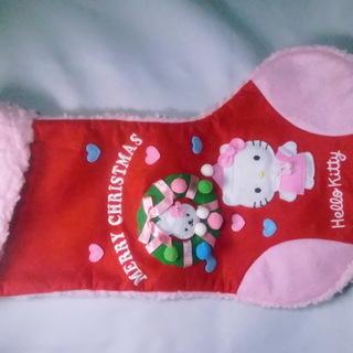 クリスマスハロー キティープレゼント靴下.