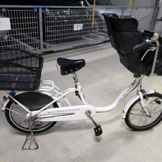 子供乗せ自転車 後ろかご付き