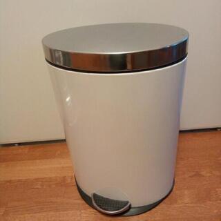 中古 ゴミ箱・ダストボックス 楕円形