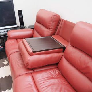 ニトリ電動リクライニングソファ