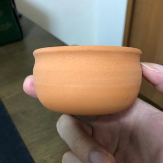素焼きカップ (小型プランター) 2個