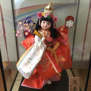 日本人形 初節句 舞踊人形 浅妻