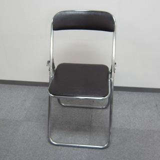 パイプ椅子(茶色)※破損あり