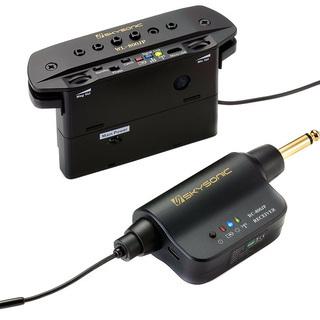 アコースティックギター用ワイヤレスピックアップセット