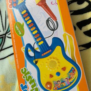 新品おもちゃギター マイク付き