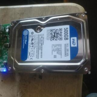 500GBハードディスク ほぼ新品