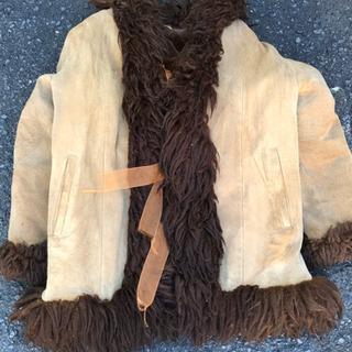 本革のコート