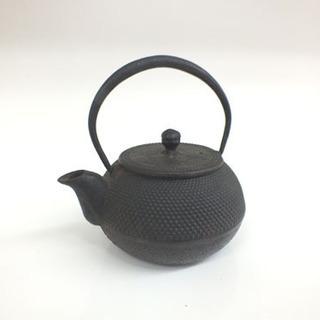 ミニ鉄瓶 湯沸しポット 鉄器 やかん 鉄分補給 ¥1,000-