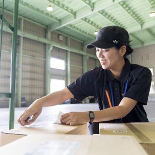 松戸市で夜間仕分け作業担当者募集!