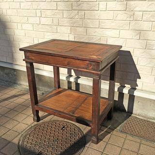 アジアンスタイル サイドテーブル ラタン
