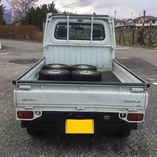 スバル サンバートラック4WD 車検MAX‼️ - 松本市