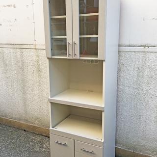 NITORI 食器棚 昭和レトロ
