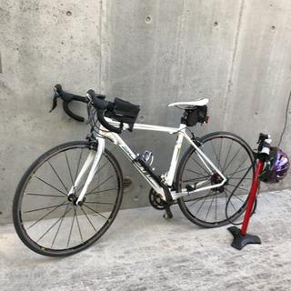 scott レース用自転車 空気入れ メット 三点