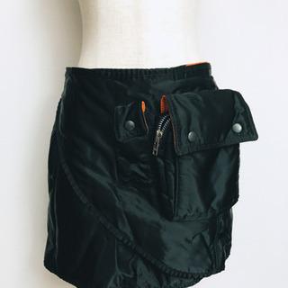 BEAMS BOYとPORTERのコラボ巻きスカートです