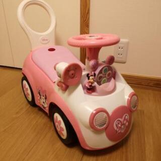 ミニーマウス 乗用玩具 ポップフルライド
