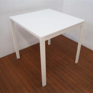 おしゃれホワイトカラー IKEA イケア ダイニングテーブル 正...