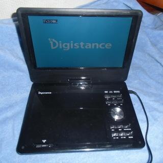 ゾックス DS-PP90EC308BK.9インチ液晶ポータブルD...