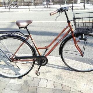 ♪ジモティー特価♪おしゃれなパイプキャリア付き27型シティサイク...
