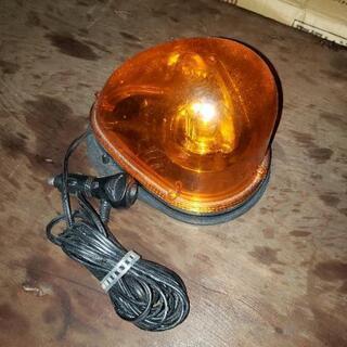 工事用 黄色の回転灯 12v.24v兼用