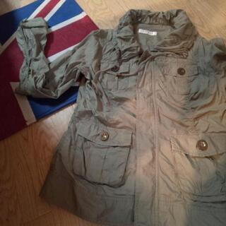 シワ加工のジャケット Mサイズ