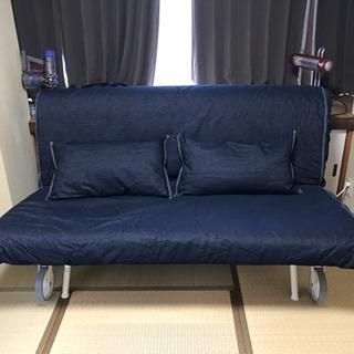 【12/7更新 0円!!!】IKEA購入ソファーベッド