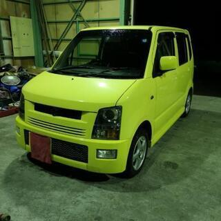 スズキ ワゴンR RR ターボ 黄色