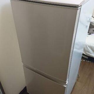 シャープ冷蔵庫 137L SJ-14T-C