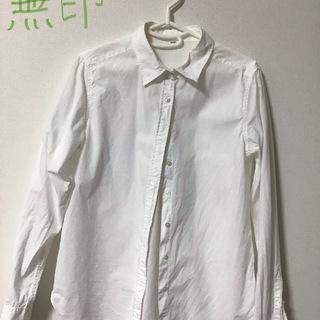 無印 洗いざらしシャツ 白 Mサイズ