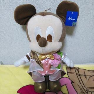 物々交換可!大きなタキシードのミッキーマウスのぬいぐるみ