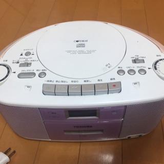 【ジャンク】CDラジカセ