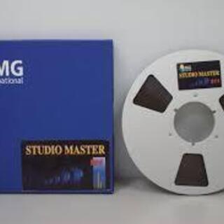 1/4 オープンリールテープ RMG studio master...