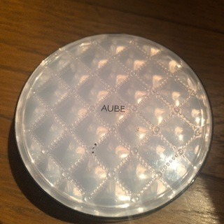 AUBEフェイスパウダー二個ピンクゴールドードセット