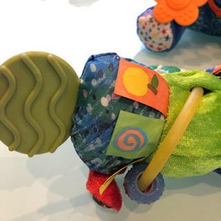 はらぺこあおむし ベビーおもちゃ 2点セット - 子供用品