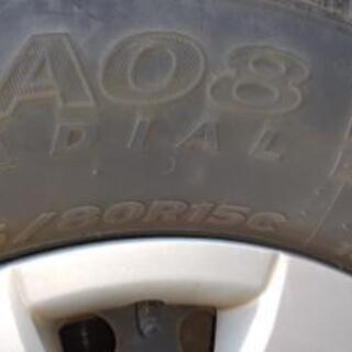 ハイエース タイヤ、ホイール 4本セット