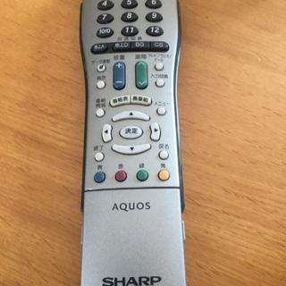 SHARP AQUOS リモコン