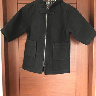 コムサ ISM  100  コート ブラック