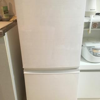 一人暮らし用シャープの冷蔵庫