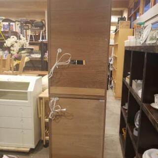 グレー×白 レンジ台付き食器棚 - 売ります・あげます