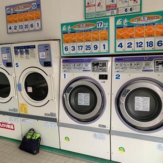 コインランドリー洗濯機、乾燥機 計7台